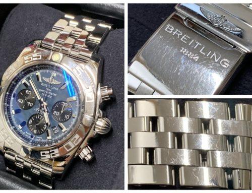 腕時計「ブライトリング クロノマット44」買取りました