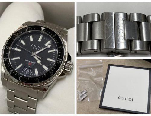 腕時計「グッチ 腕時計 DIVE ダイブ」買取りました