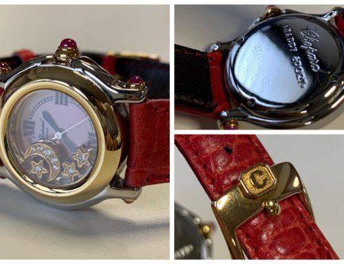 腕時計「ショパール ハッピースポーツ レディース」買取りました
