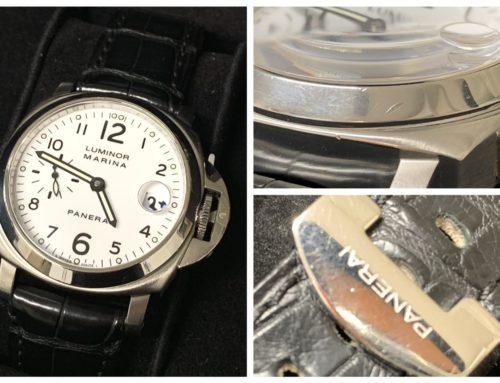 腕時計「パネライ ルミノールマリーナ(傷多)」買取りました