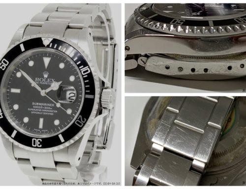 腕時計「ロレックス サブマリーナ 16610 N番」買取りました