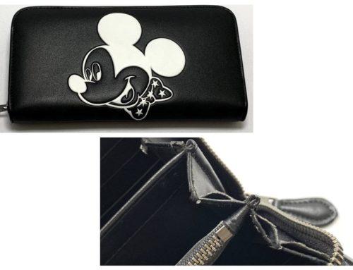 ブランド小物「コーチ×ディズニー コラボ ミッキー長財布」買取りました